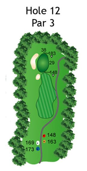 Layout of The Dream Hole 12