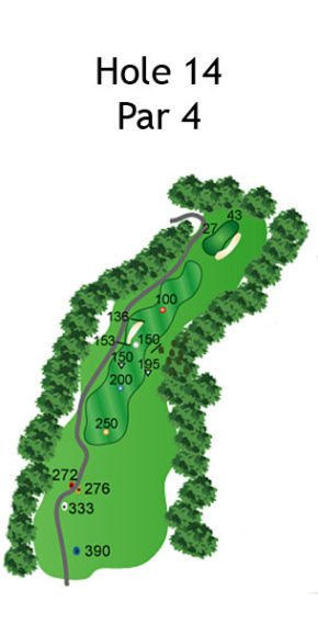 Layout of The Dream Hole 14