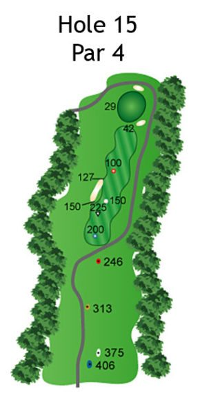 Layout of The Dream Hole 15