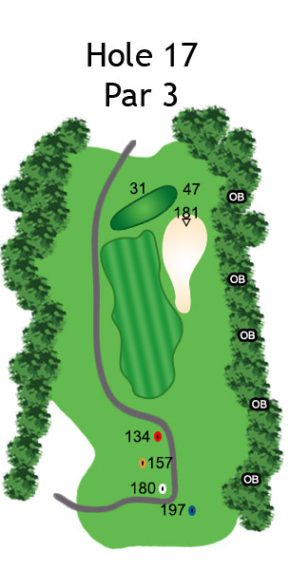 Layout of The Dream Hole 17