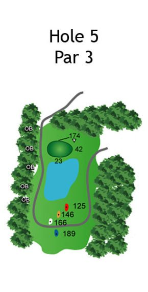 Layout of The Dream Hole 5