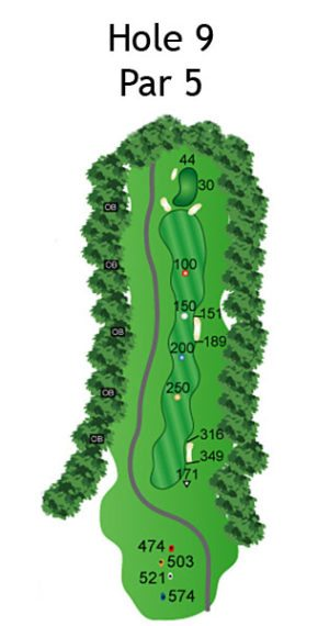 Layout of The Dream Hole 9
