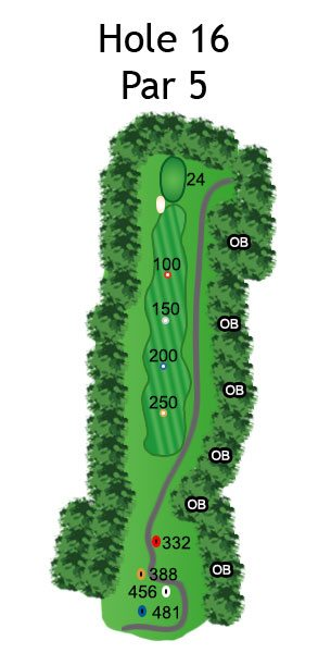 Layout of The Dream Hole 16